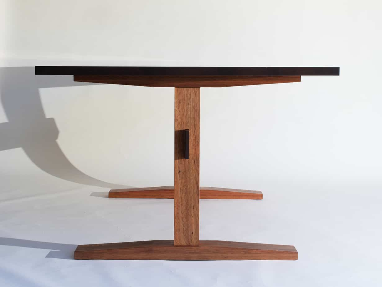 modern dining table custom dining Lloyd Brooke Furniture New Zealand